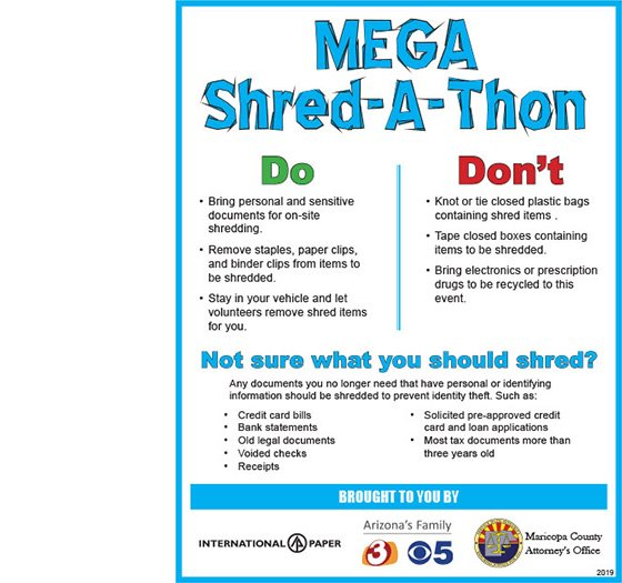 Mega Shred do's and don'ts