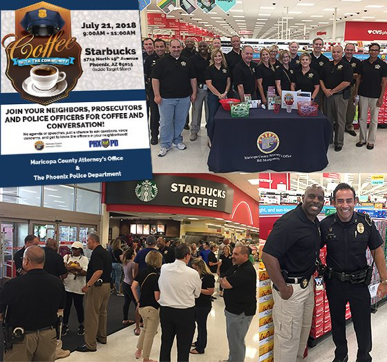 Coffee with the Community Event