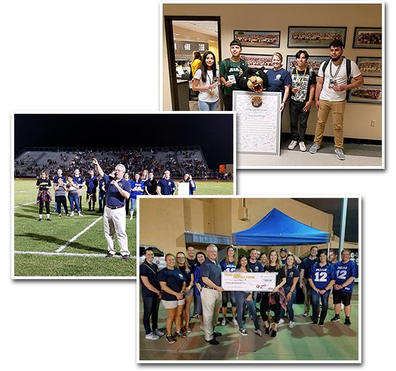 Images from Friday Night Football Patrol 2018