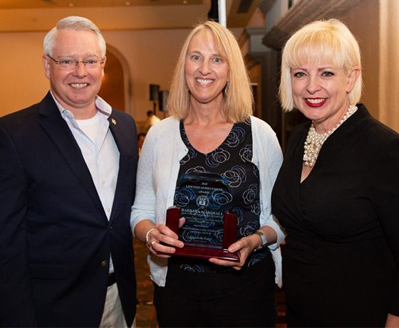 Deputy Maricopa County Attorney Barbara Marshall receives 2018 APAAC Lifetime Achievement in Prosecution Award