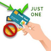 •	Use only one credit card when shopping so you don't have to chase down multiple cards, if your purse or wallet are taken