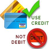 •	For practical purposes, your debit card should be treated as cash. If your card information is stolen or compromised, criminals can easily take your funds from your checking and savings accounts. In contrast, if your credit card number is stolen and used, you can file a report with the credit card company, close that account and get a new card issued.