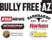 Bully Free AZ logo and Sponsor logos
