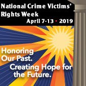 National Crime Victims' Rights Week 2019 Graphics
