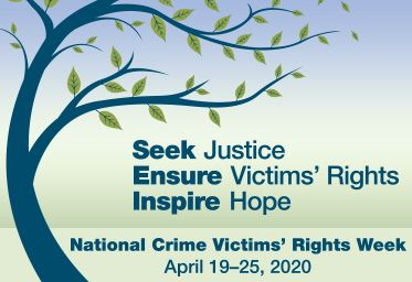 2020 National Crime Victims Rights Week Artwork