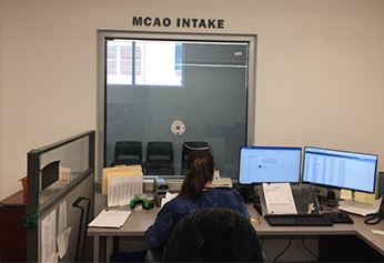 MCAO Intake Window
